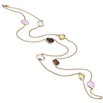 Mia's Colour Gemstone Necklace