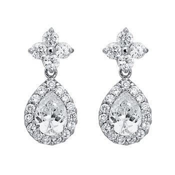 Pica LéLa Crystal Tear Drop Earrings