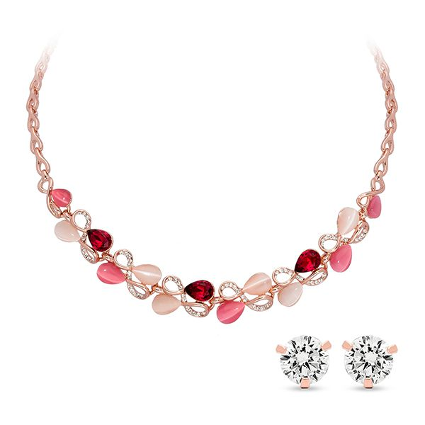 Pica LéLa ROSA Statement Necklace & Earring Set Image