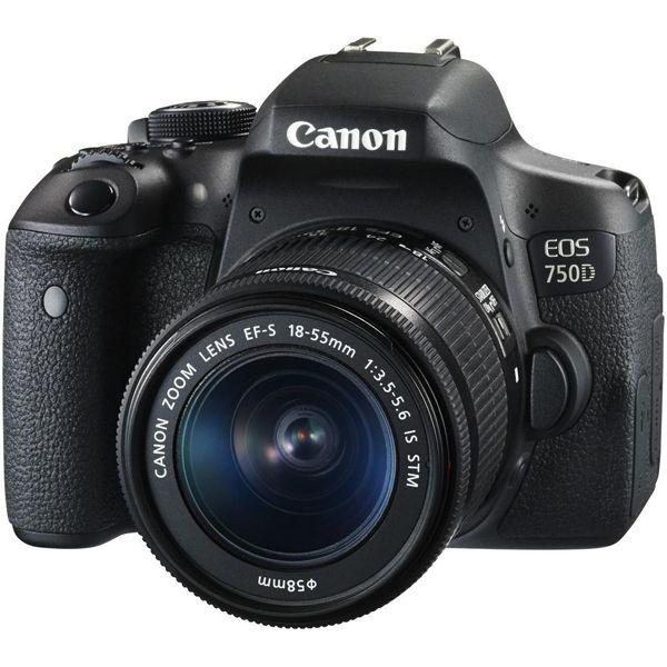 Canon EOS 750D DSLR Camera 18-55 IS STM Lens Kit Image