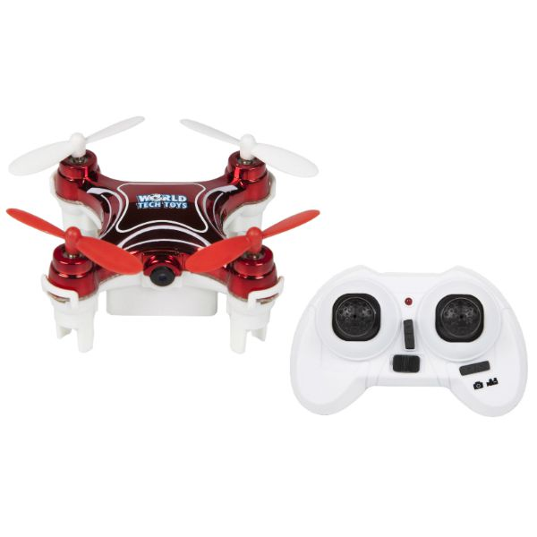 World Tech Toys NEMO 2.4GHz 4.5CH Camera RC Spy Drone Image