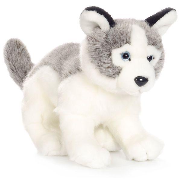 WWF Husky Pup Plush Animal Image