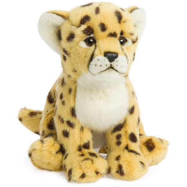 WWF Cheetah Plush Animal Image