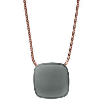 Skagen SEA GLASS Women's Necklace with Square Pendant
