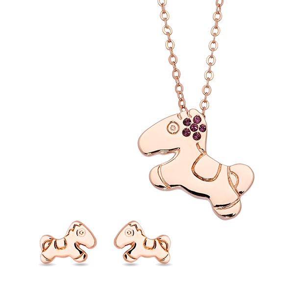 Pica LéLa LITTLE PONY Earring and Necklace Set Image