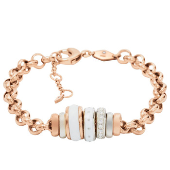 Fossil CLASSICS Women's Charm Bracelet