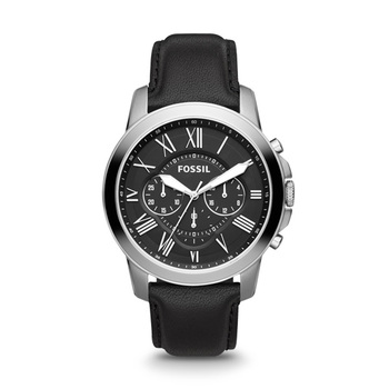 Fossil GRANT Gents Chronograph FS4813 with Leather Strap