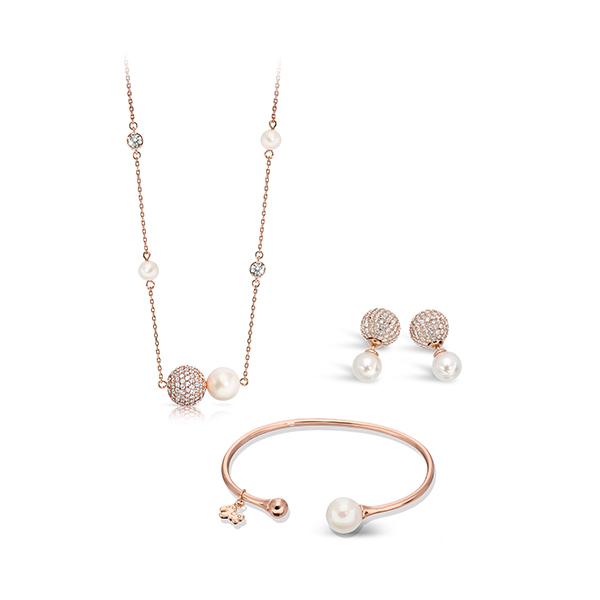 Pica LéLa CINDERELLA Pendant Necklace, Bangle & Earrings Set Image