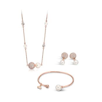 Pica LéLa CINDERELLA Pendant Necklace, Bangle & Earrings Set