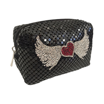 Moliabal Heart with Wings Pochette