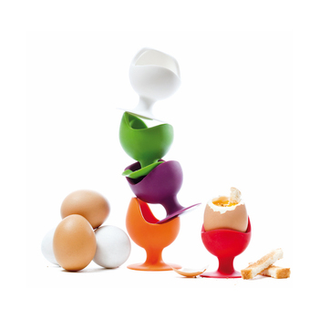 SiliconeZone Egg Chair Set 4pcs