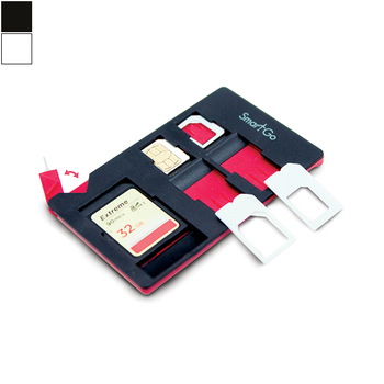 SmartGo SIM & SD Holder with Stand, Adaptor & Sim Opener