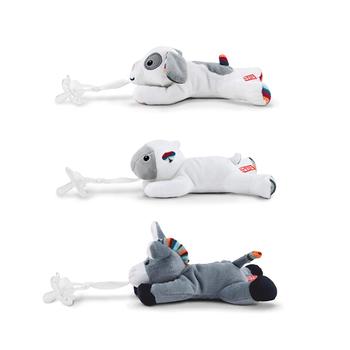 Zazu Pacifier Holder Soft Toy