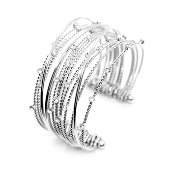 Toscow CELESTIAL CASCADE Crystal Bangle