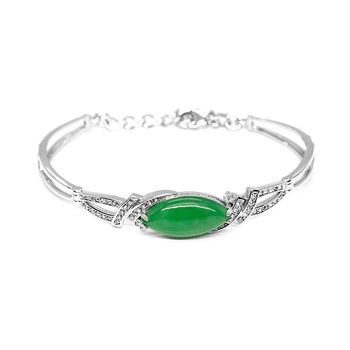 Toscow IMPERIAL Burmese Jade Bangle