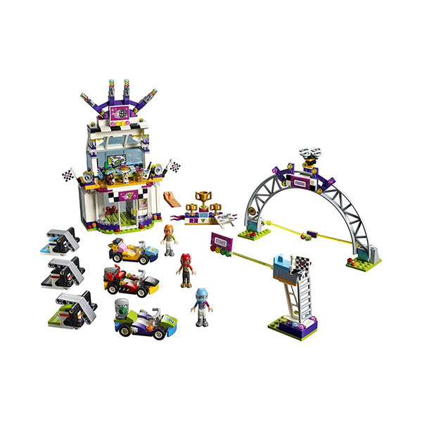 Lego FRIENDS The Big Race Day Image