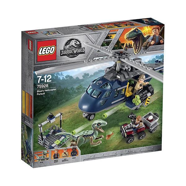 Lego JURASSIC WORLD Blue's Helicopter Pursuit Image