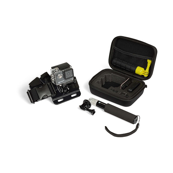 Kitvision Action Camera Case, Extension Pole + Chest Strap Image
