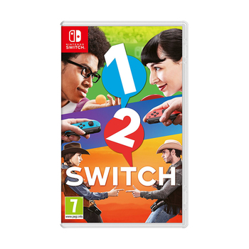 Nintendo SWITCH Game : 1-2-Switch