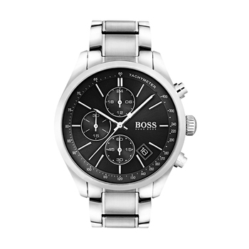 Hugo Boss GRAND PRIX Gents Chronograph with Steel Bracelet