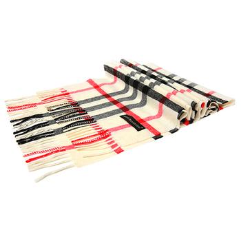 Bravo Baaah UGG AUSTRALIAN MERINO British Style Wool Plaid Scarf