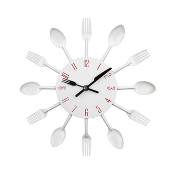 Trends 3D Cutlery Kitchen Wall Clock