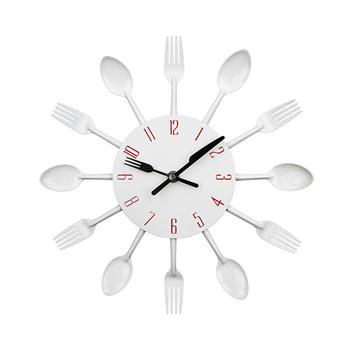 Trends 3D Cutlery Kitchen Wall Clock
