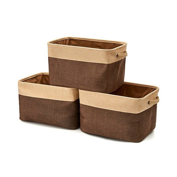 Trends Foldable Storage Cubes Set 3pcs