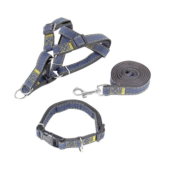 Trends Dog Harness Leash & Collar Matching Set